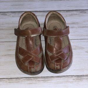 Old Soles Tan Oliver Shoes - 25 EU / 9 US Toddler